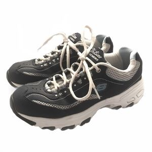 Skechers D'Lites Blue/White Sneakers
